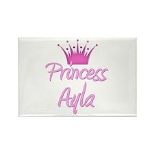 Princess Ayla Rectangle Magnet