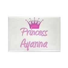 Princess Ayanna Rectangle Magnet