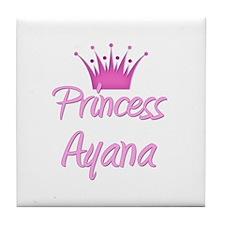 Princess Ayana Tile Coaster