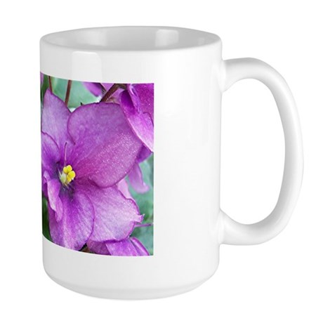 Beautiful Purple AV Field Large Mug