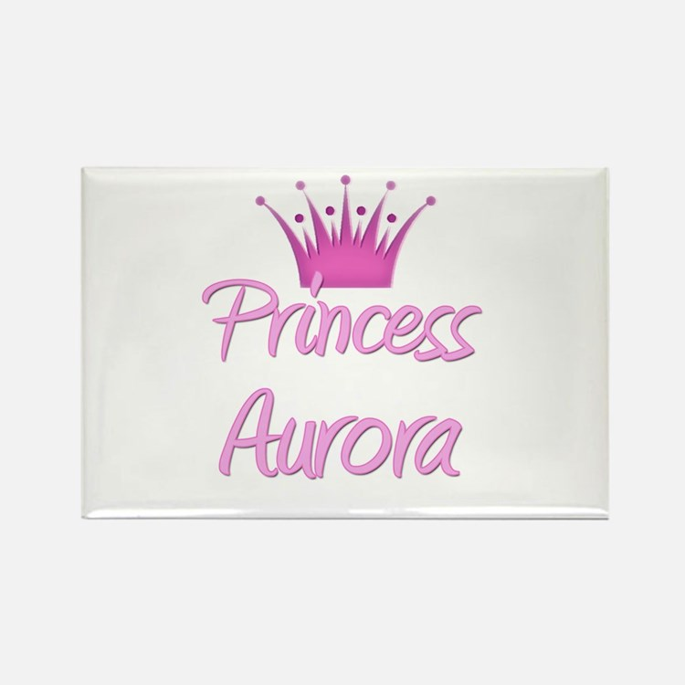 Princess Aurora Rectangle Magnet