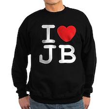 I Heart JB (B) Sweatshirt