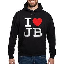 I Heart JB (B) Hoodie