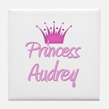 Princess Audrey Tile Coaster