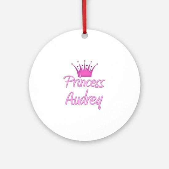 Princess Audrey Ornament (Round)
