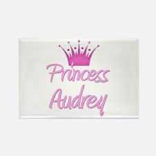 Princess Audrey Rectangle Magnet