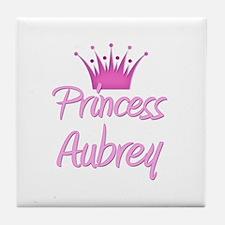 Princess Aubrey Tile Coaster