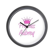Princess Aubrey Wall Clock