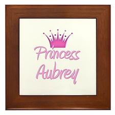 Princess Aubrey Framed Tile