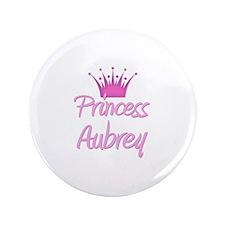 "Princess Aubrey 3.5"" Button"