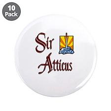 "Sir Atticus 3.5"" Button (10 pack)"
