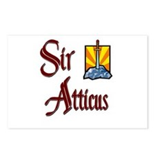 Sir Atticus Postcards (Package of 8)