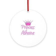 Princess Athena Ornament (Round)