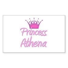 Princess Athena Rectangle Decal