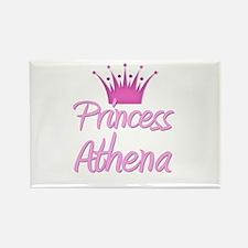 Princess Athena Rectangle Magnet