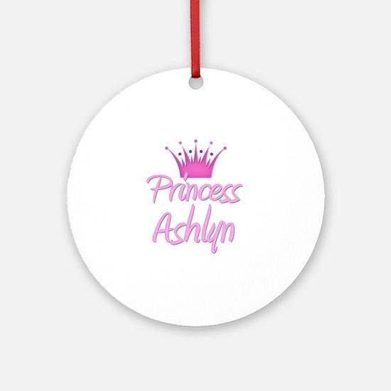 Princess Ashlyn Ornament (Round)