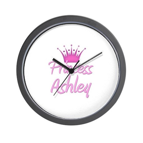 Princess Ashley Wall Clock