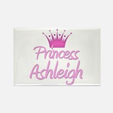 Princess Ashleigh Rectangle Magnet