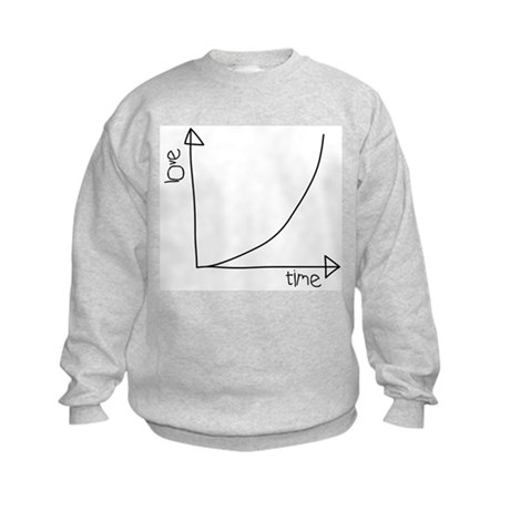 Love Graph Kids Sweatshirt