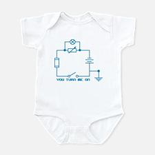 Turn Me On Circuit Infant Bodysuit