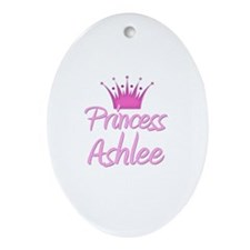 Princess Ashlee Oval Ornament