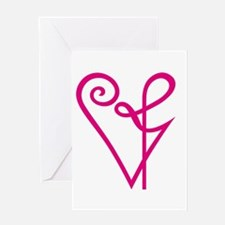 Matters Of The Heart Greeting Card