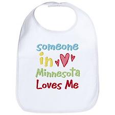 Someone in Minnesota Loves Me Bib