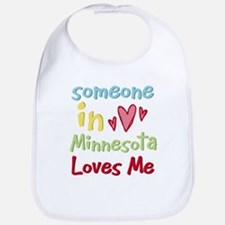 Someone in Minnesota Loves Me Bib