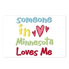 Someone in Minnesota Loves Me Postcards (Package o