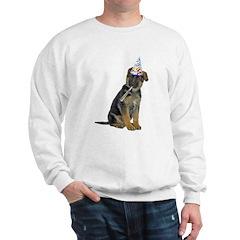 German Shepherd Party Sweatshirt