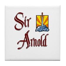Sir Arnold Tile Coaster