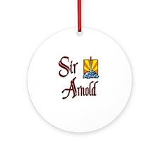 Sir Arnold Ornament (Round)