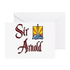 Sir Arnold Greeting Card