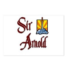 Sir Arnold Postcards (Package of 8)