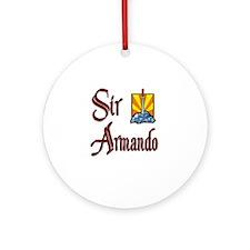 Sir Armando Ornament (Round)
