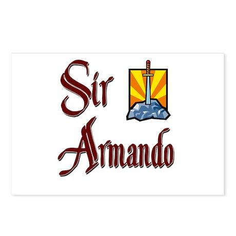 Sir Armando Postcards (Package of 8)