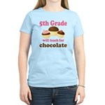 Funny 5th Grade Teacher Women's Light T-Shirt