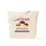 Funny 5th Grade Teacher Tote Bag