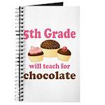 Funny 5th Grade Teacher Journal