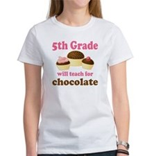Funny 5th Grade Teacher Tee