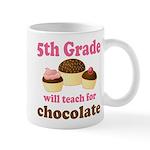 Funny 5th Grade Teacher Mug