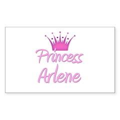 Princess Arlene Rectangle Decal