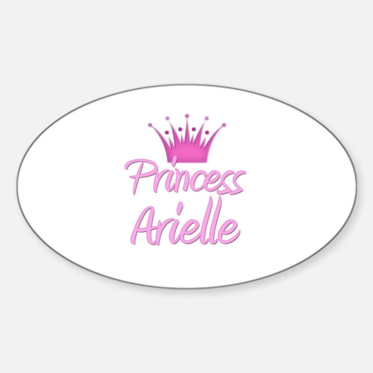 Princess Arielle Oval Decal