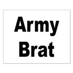 Army Brat Small Poster