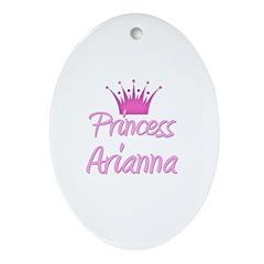 Princess Arianna Oval Ornament