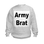 Army Brat Kids Sweatshirt
