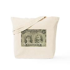 Rhodesia KGV Double Heads 1/2 Tote Bag