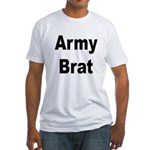 Army Brat (Front) Fitted T-Shirt