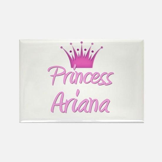 Princess Ariana Rectangle Magnet