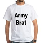 Army Brat (Front) White T-Shirt